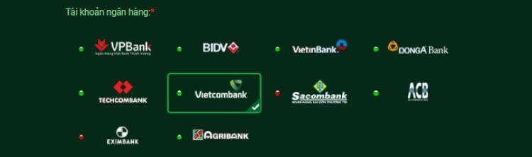 ngân hàng gửi tiền