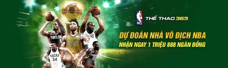 chương trình khuyến mãi dự đoán nhà vô địch NBA tại nhà cái FB88